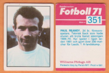 Leeds United Paul Reaney England